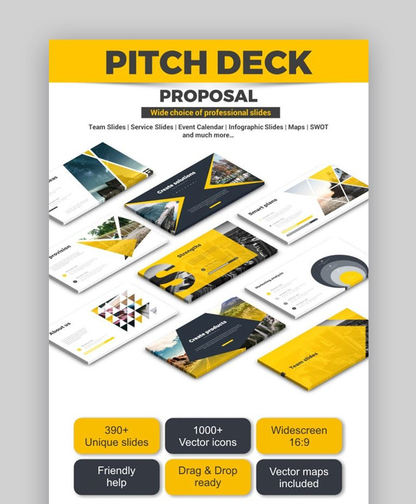 GraphicRiver Pitch Deck Proposal