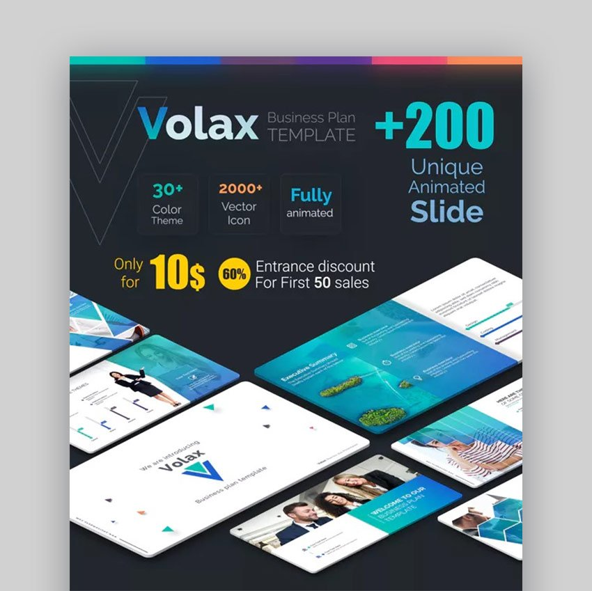 Volax Business Plan Best Presentation PPT Download