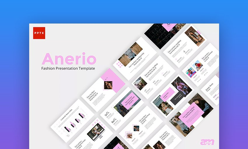 Anerio Beautiful Fashion PowerPoint