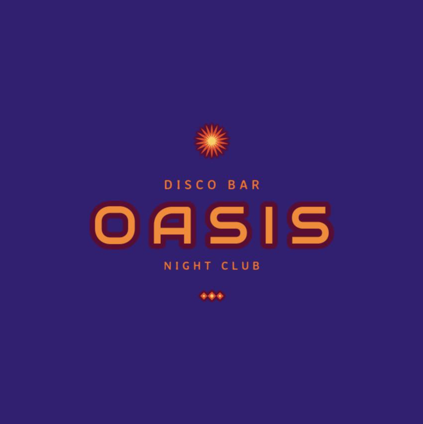 Night Club Logo Template