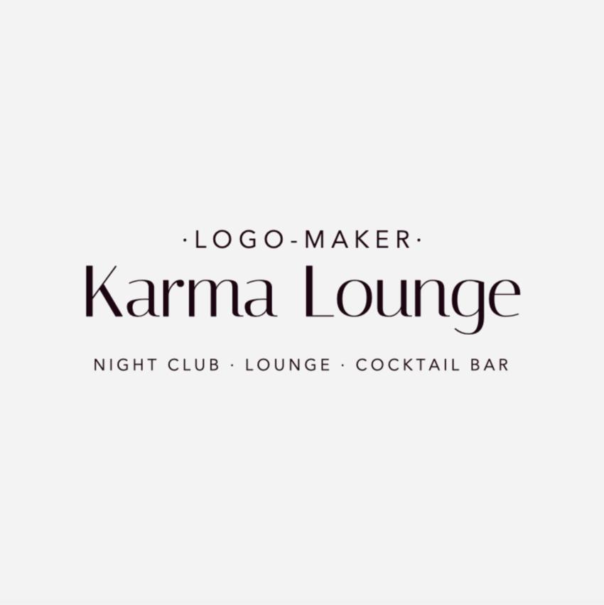 Logo Maker for a Fancy Night Club