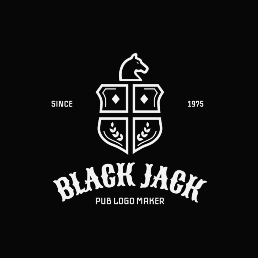 Pub Logo Maker with Medieval Shields