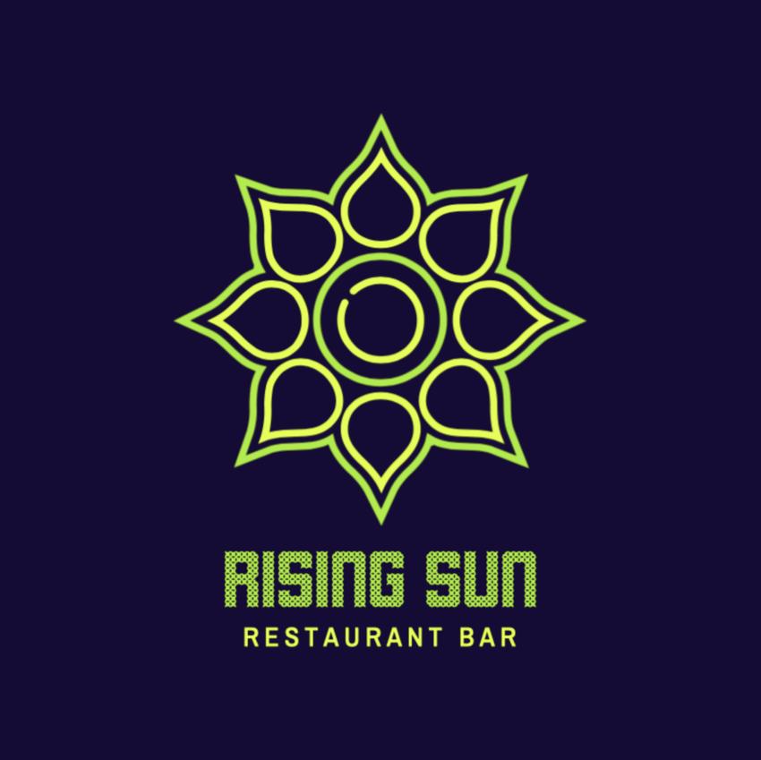 Minimalistic Bar Logo Template