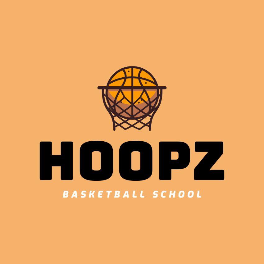 Basketball School Logo Maker