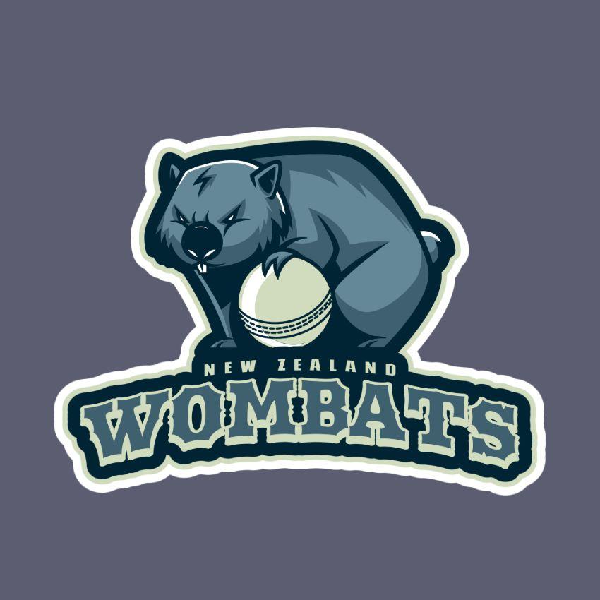 National Cricket Team Logo Maker