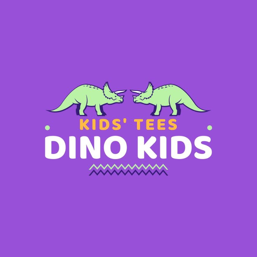 Kids Tee Logo Maker with Dino Graphics