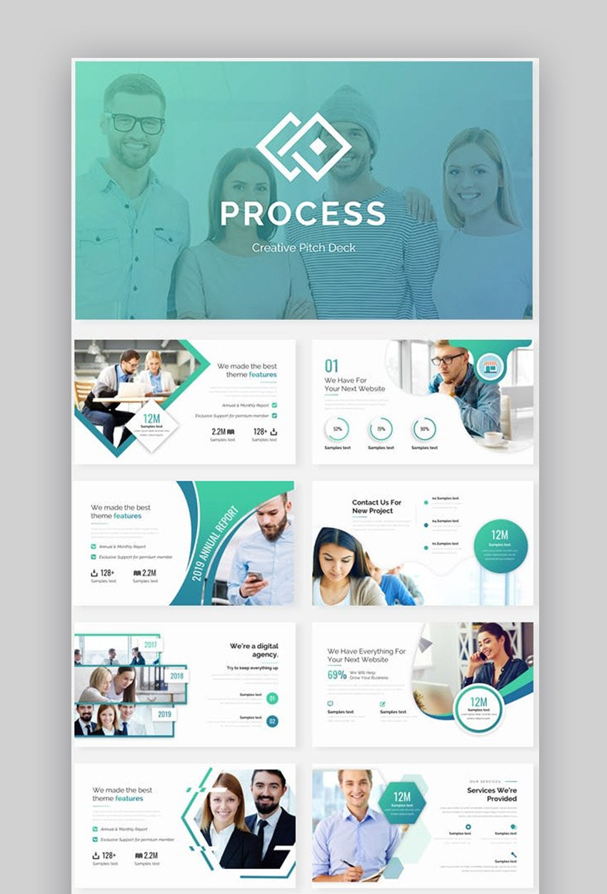 Creative Process Pitch Deck