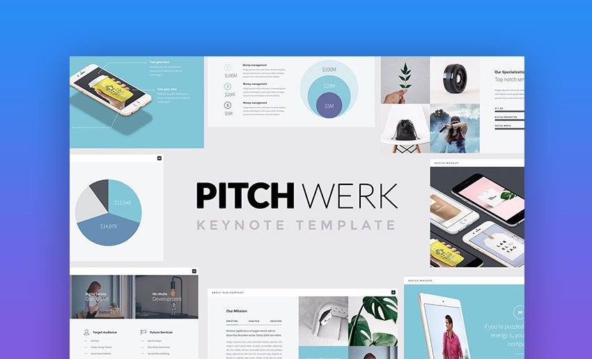 Pitch Werk Elegant Keynote