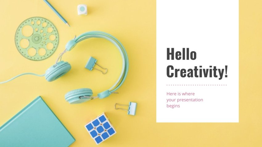 Color Creative Presentation