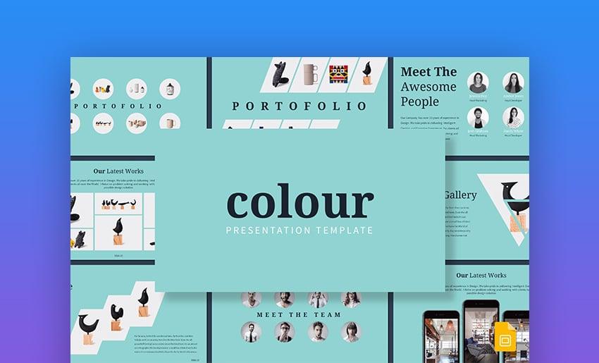 Colour Google Slides Template