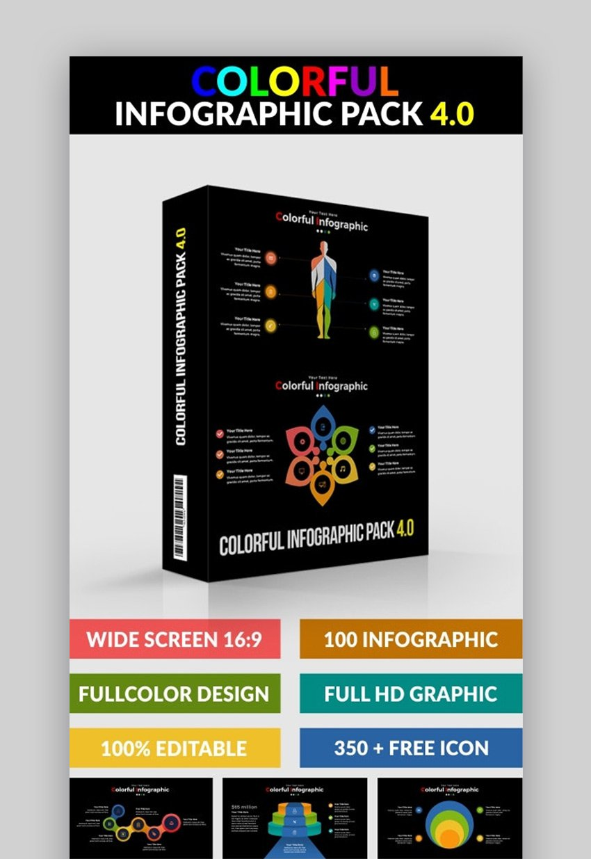 Colorful Infographic Pack
