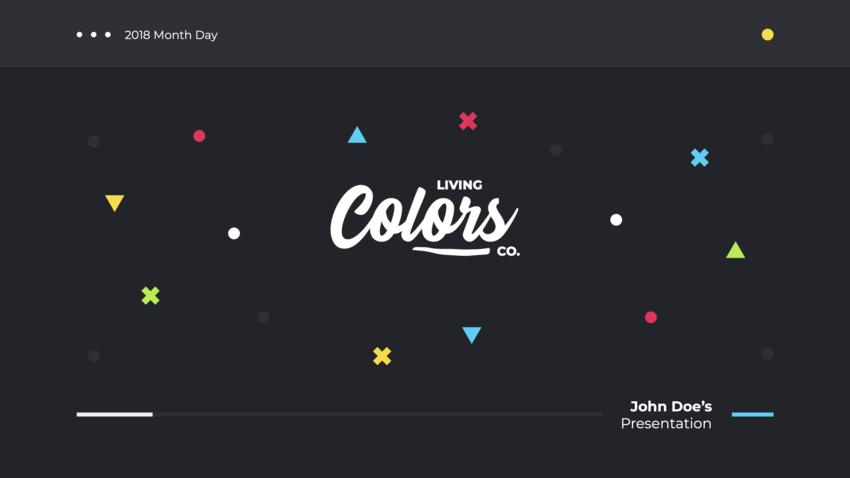 Title Slide Colors