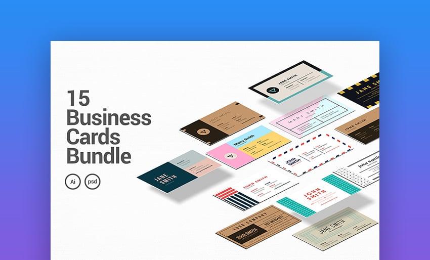 15 Business Cards Bundle