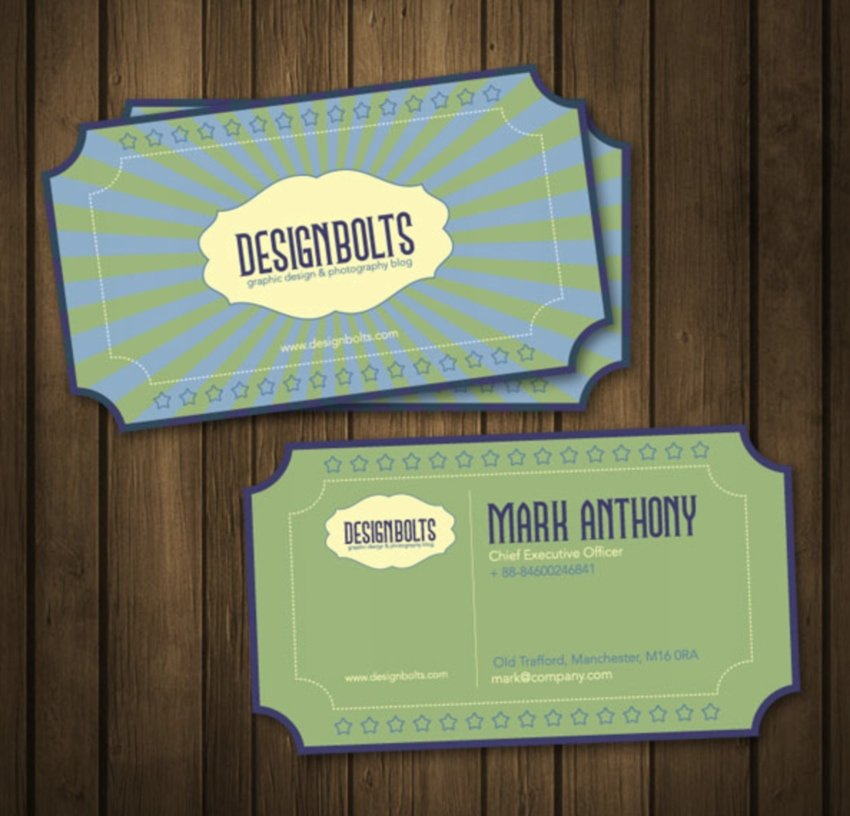 5 Business Card Designs for Free