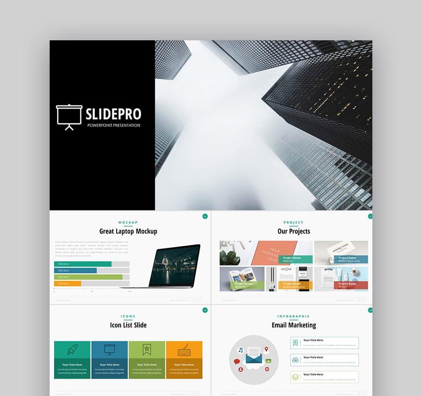 SlidePro Professionelle PowerPoint-Designs