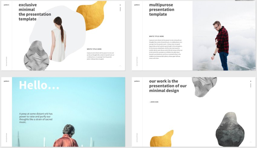 Aesthetic PowerPoint Templates Free