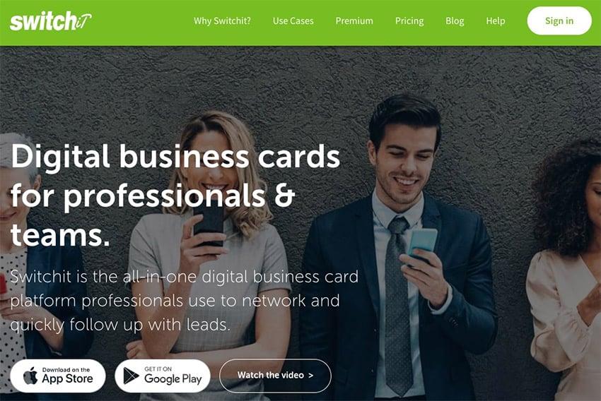 Free virtual business card