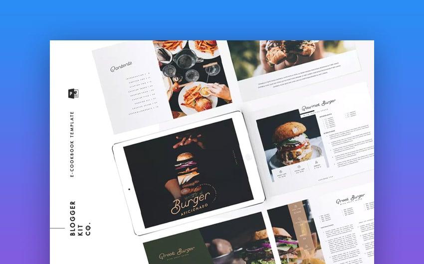 Cookbook Template PowerPoint