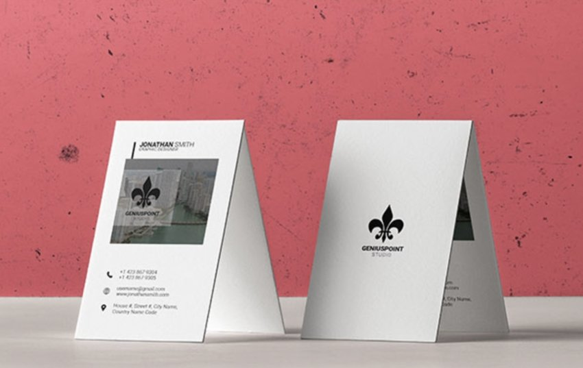 Free Photoshop Business Card Template