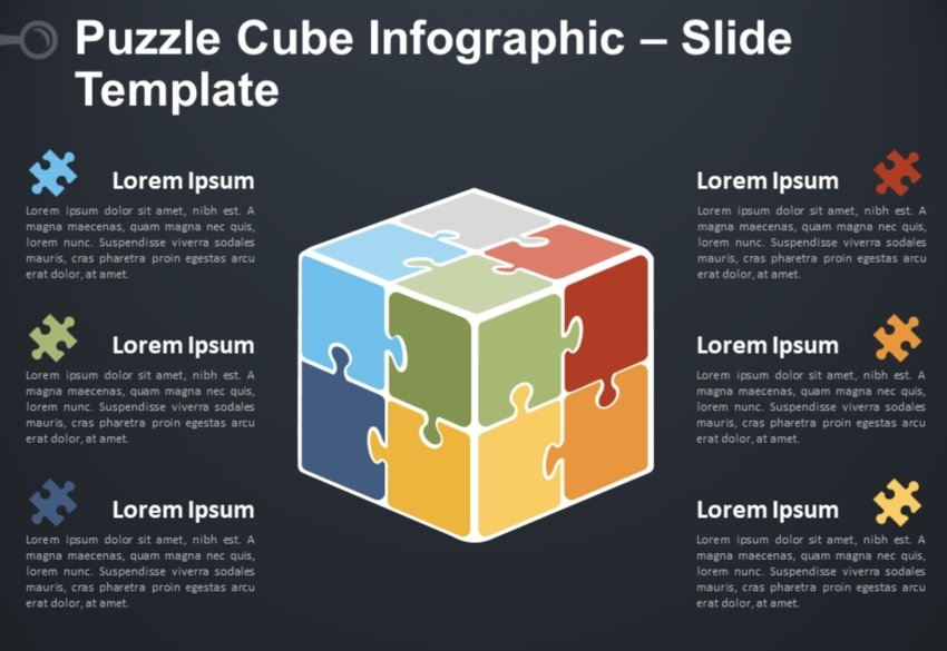PopwerPoint puzzle template