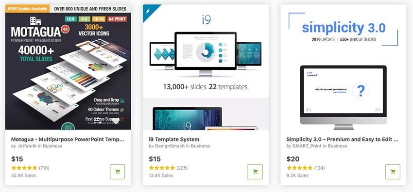 GraphicRiver Best Presentation designs