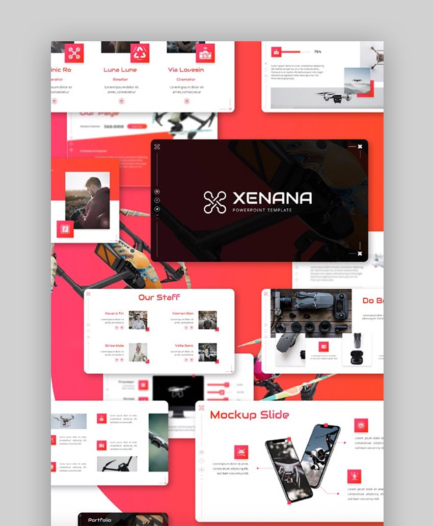How to Design PowerPoint Template with Xenana