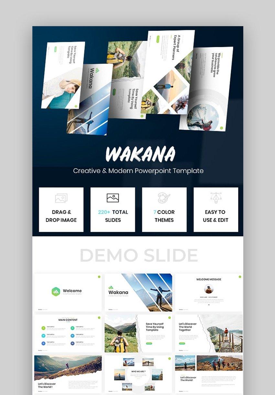 Wkaana Minimal PPT Design