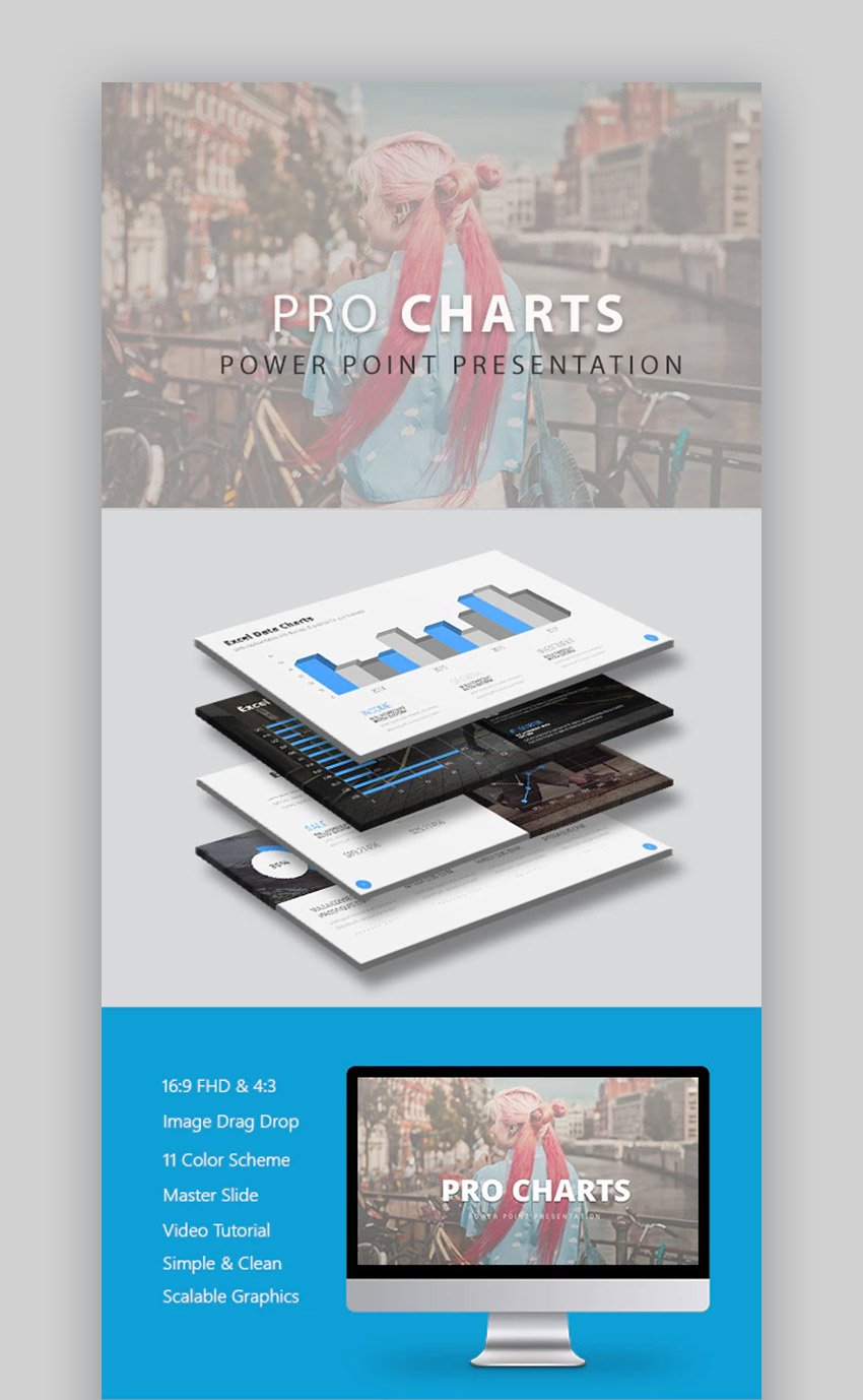 Pro PPT Chart Template