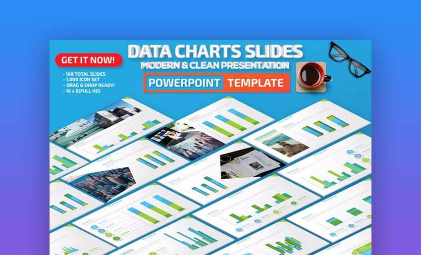 Data Chart Templates for PowerPoint