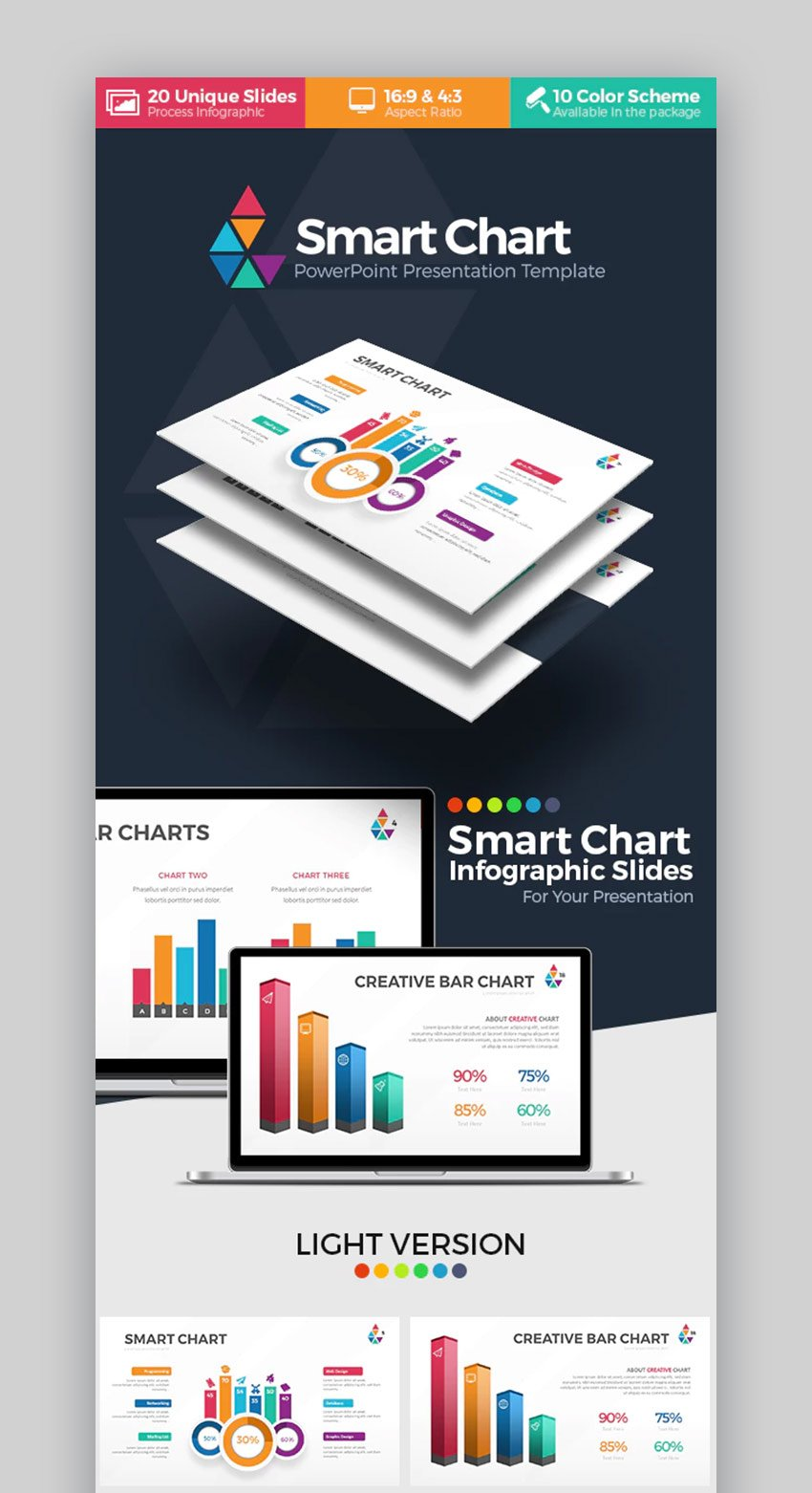 Smart Chart PPT Template
