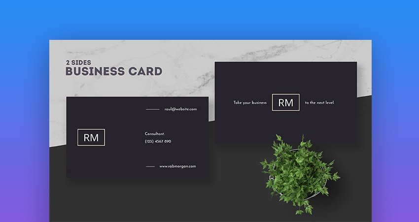 Consultant Business Card