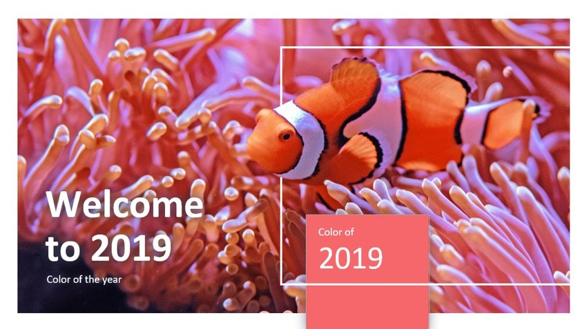 Living Coral Presentation