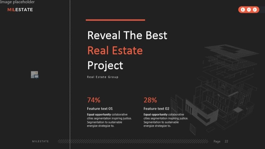 Real estate PowerPoint presentation examples