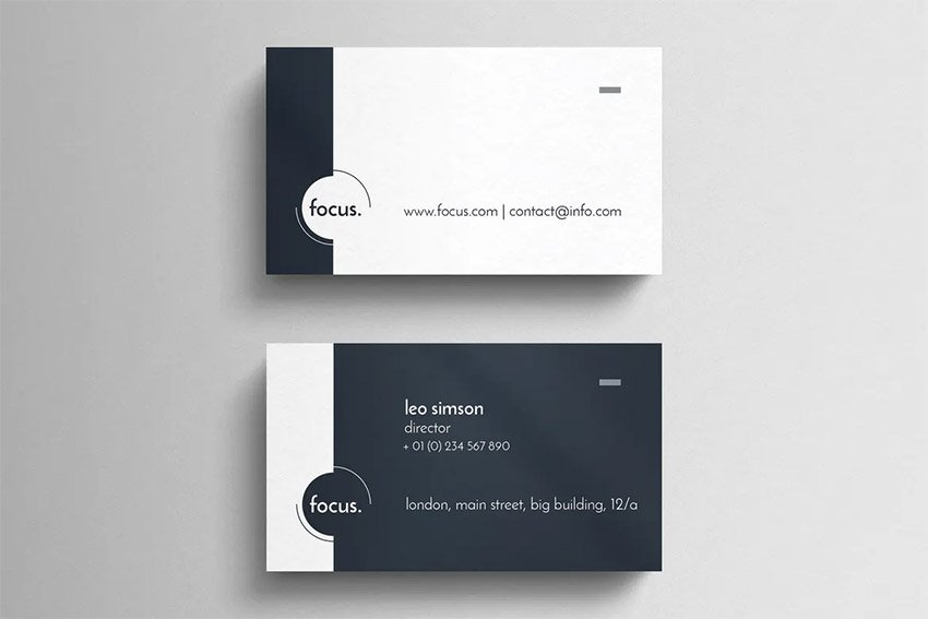 Cleaning Business Cards template