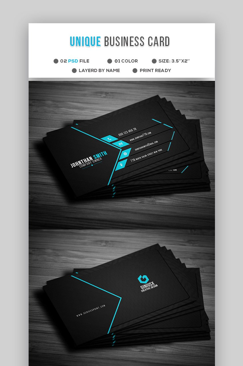 Unique Business Cards