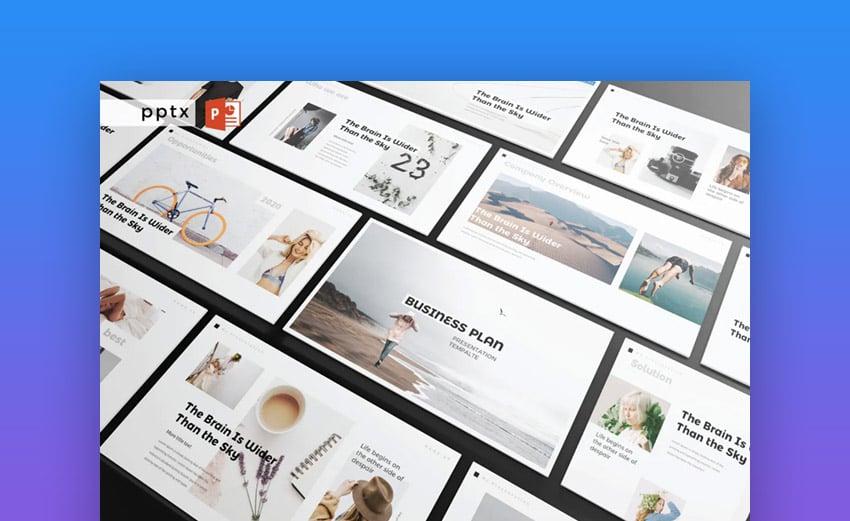 Business plan multipurpose PowerPoint presentation