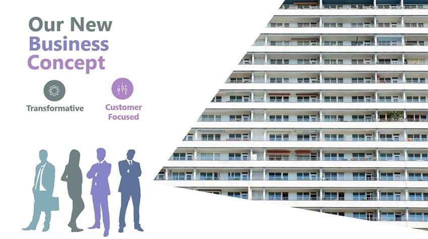 Business plan slide