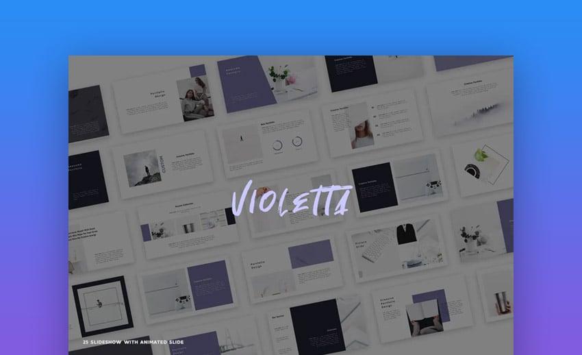 Fashion catalog PowerPoint brochure template