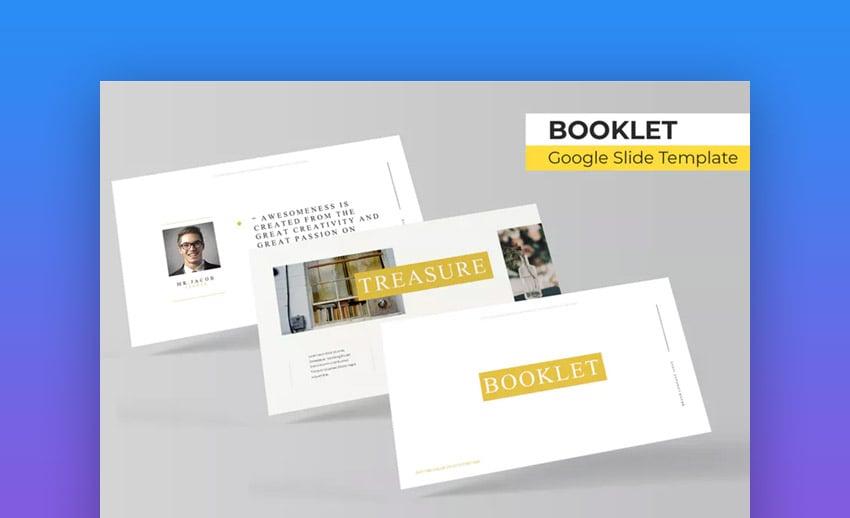 Booklet PowerPoint brochure template