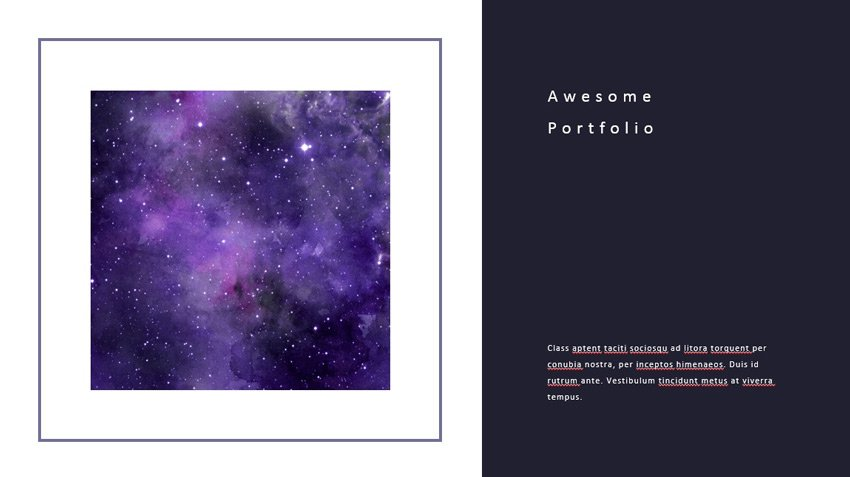 Stock images in PowerPoint brochure