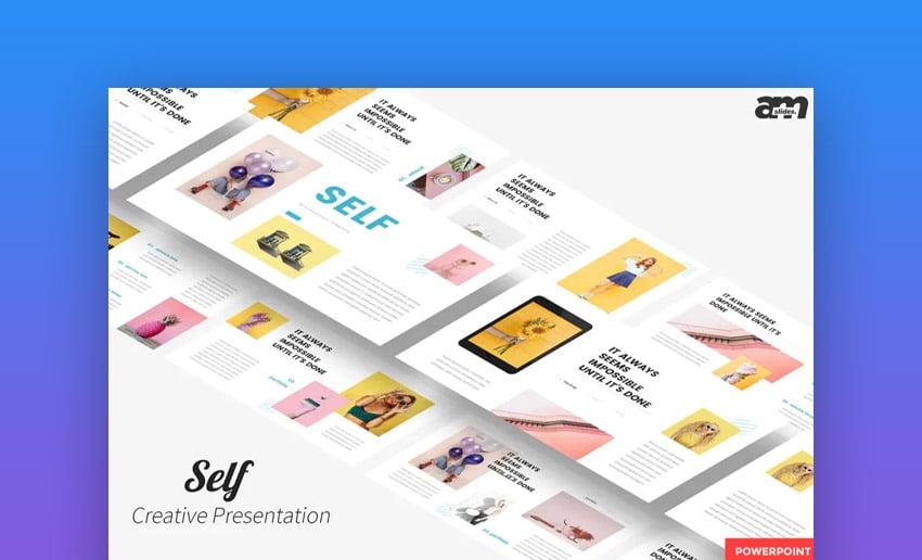 Self Creative PowerPoint Presentation
