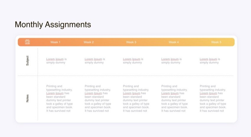 30 60 90 Day Template for PowerPoint
