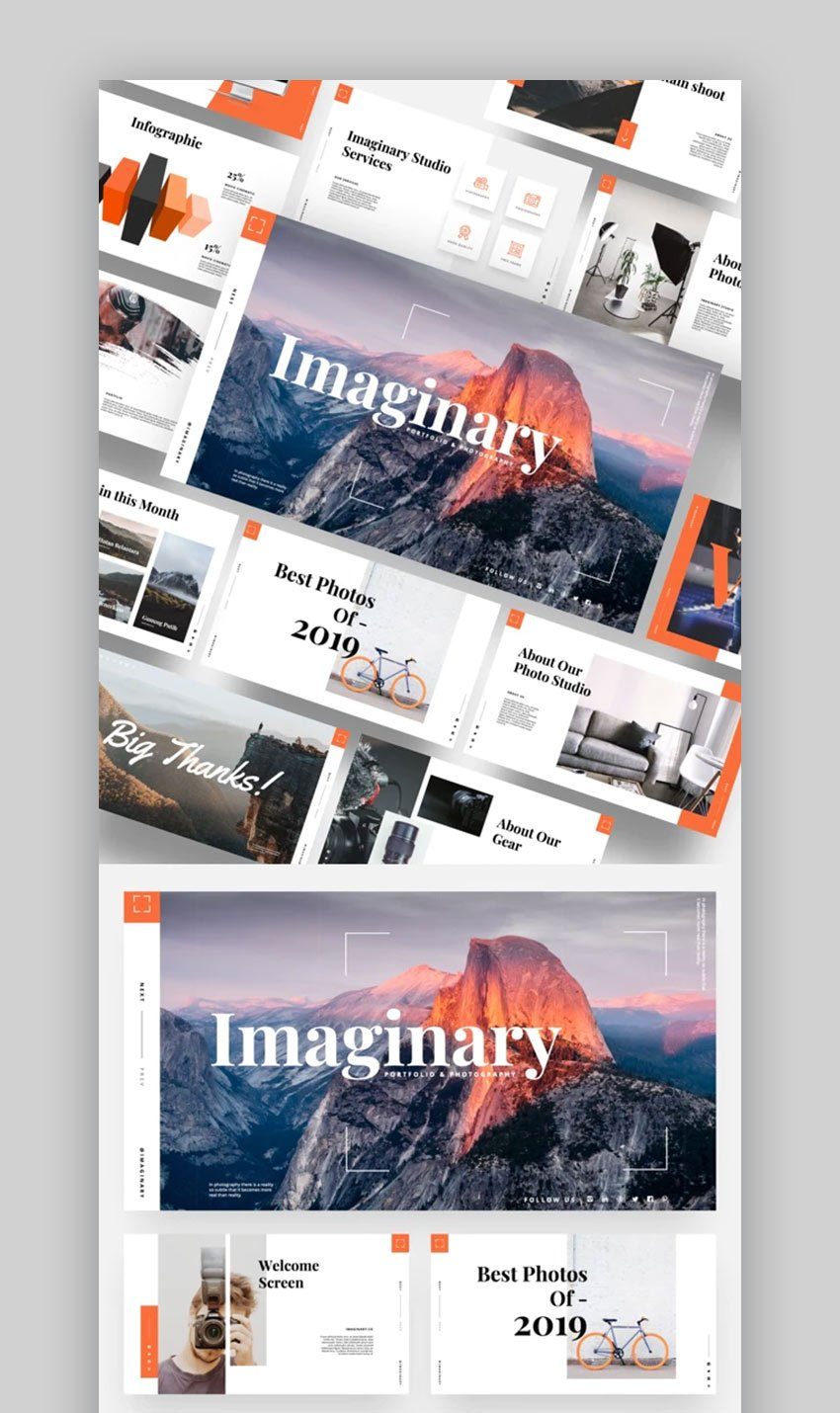PowerPoint photo slideshow template