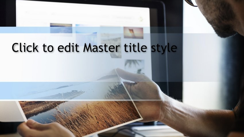 PowerPoint photo slideshow template free