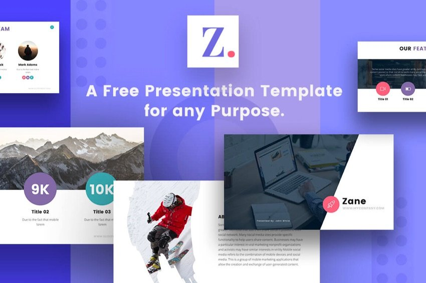 Free Keynote presentation