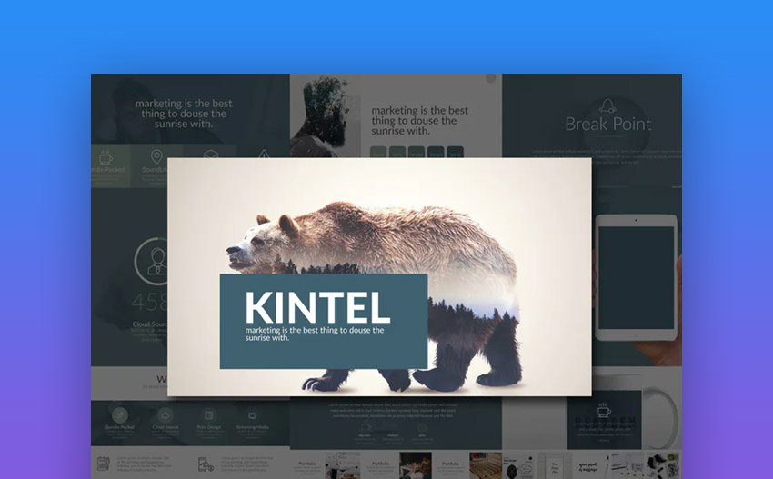 Kintel Custom Google Slides theme