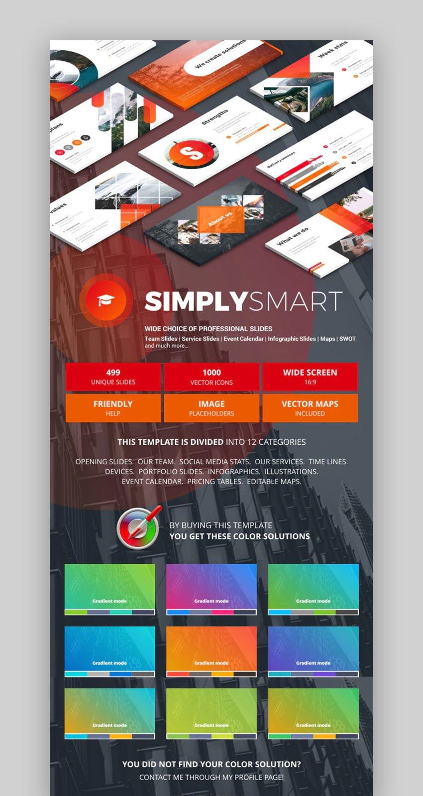 Download Simply Google Slides theme