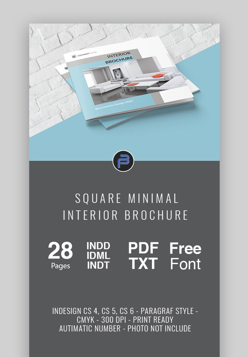 Product brochure templates