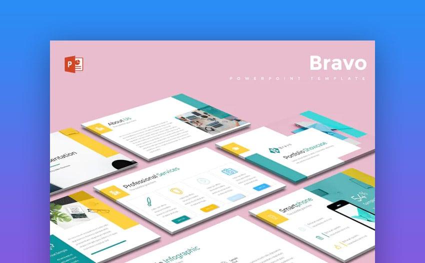 Bravo PowerPiont template