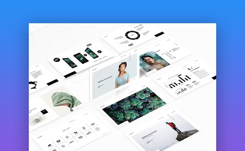 The Fashion Animated PowerPoint Template